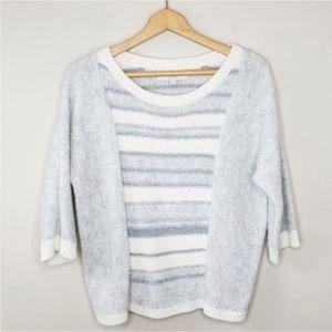 Ann Taylor LOFT   Stripe Sweater